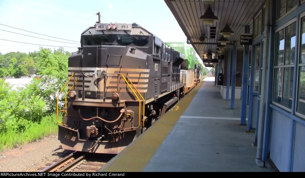 SD70ACe 1153 With Norfolk Southern H03