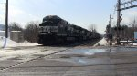 Norfolk Southern 36Q Crossing Route 100