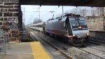 Train 7216 on Track 2