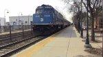 F40PH-3C 4908 Pushing Train 1162