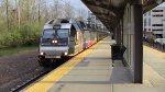 Train 1009 Departing