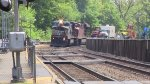 Norfolk Southern and Canadian Pacific Power on the Carnival Train