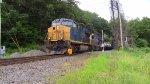 CSX Q409 Crossing Mine Dock Road