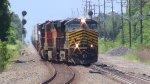 ES44AC 8100 Switching Tracks
