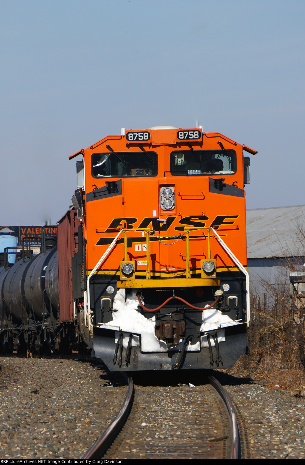 BNSF 8758