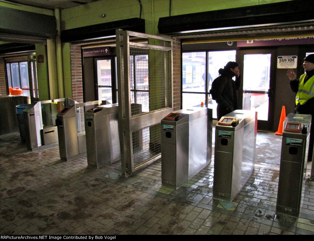 NPT fare gates