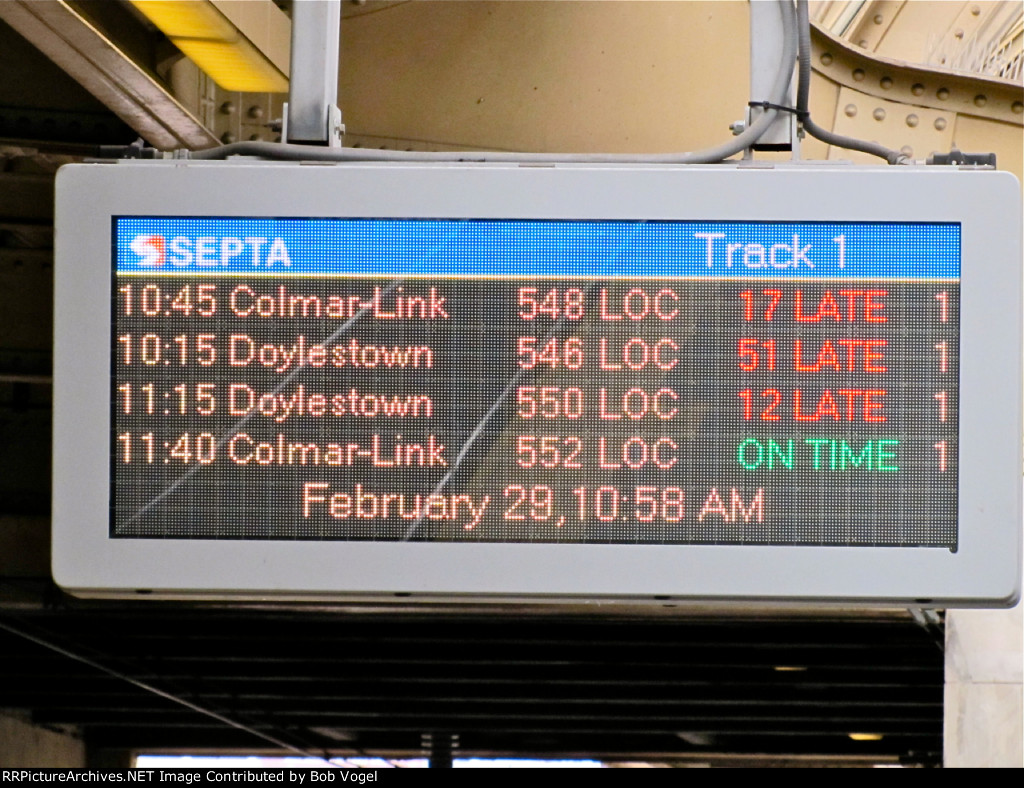late trains