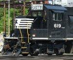 """NS 619 """"Admiral Cab"""" detail"""