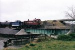 DCLR #19 on the swing arm bridge, year roughly 2000.