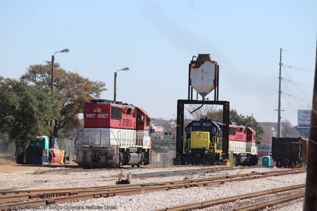The Austin & Western McNeil Yard