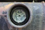 The fuel guage on BNSF 1680