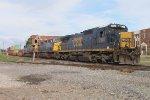 CSX NB intermodal clear southern