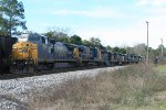 CSX local with just enough power heading for the barn