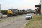 CSX NB empty ethanol train