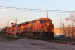 BNSF 7932 and 4307