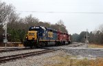 CSX GP40-2 6092 and GP40 HLCX 4225