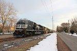 NS SD80MAC #7224 lead as K64 southbound train