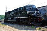 K94 local's power as NS SD80MAC #7221 sit around on the Jello yard and, waits for next new their assignment