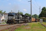 NS SD80MAC #7217 lead as K64 train
