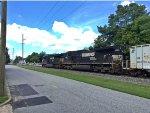 NS C44-9W #9306 trailing as K64 train