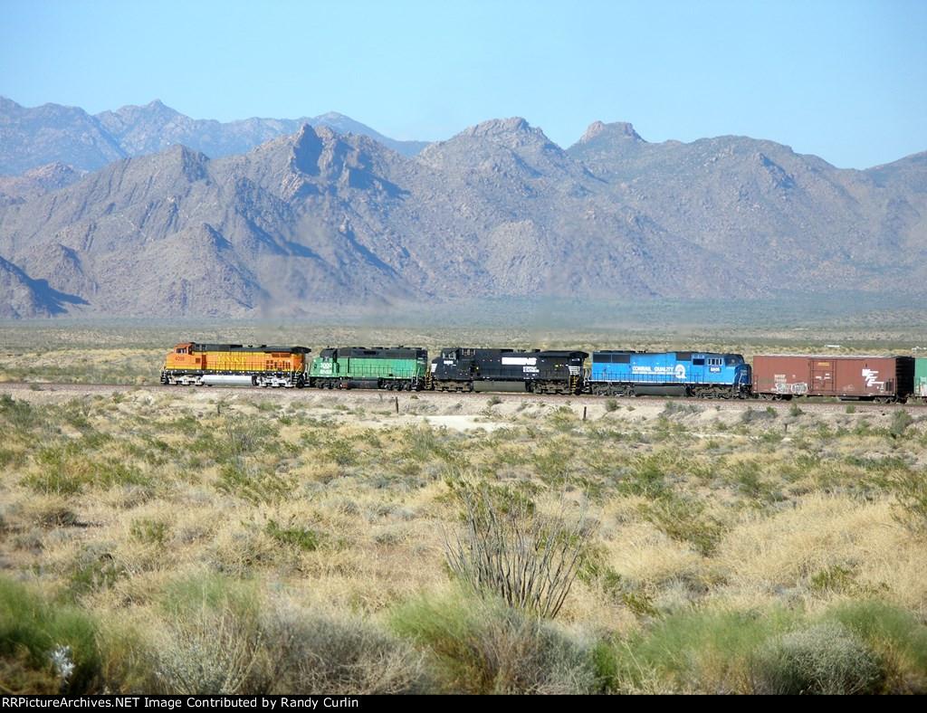 BNSF 4098 East