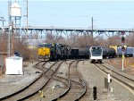 CSX 3063 and NJT 3511