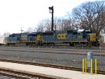 CSX 8626 and 777