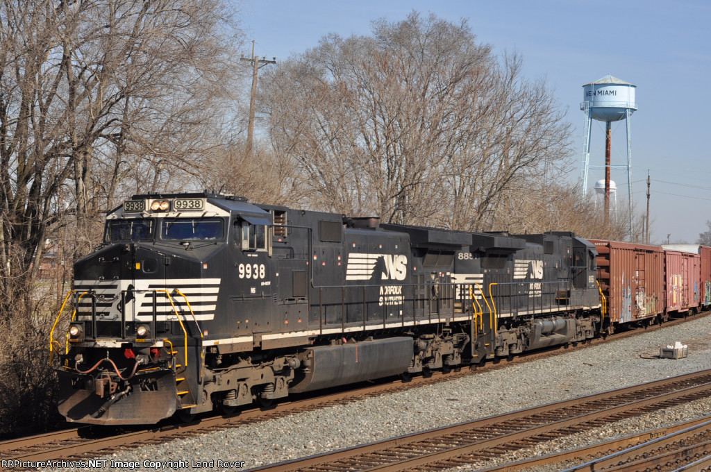 NS 9938 On NS 177 Eastbound