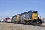 CSXT 4228 On CSX J 783 Eastbound