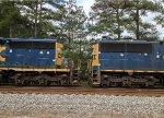CSX SD50-2 8506 and SD40-2 8129