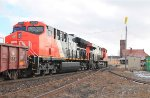Eastbound mixed freight #384