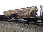Seaboard Covered Hopper