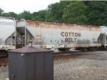 Cotton Belt covered hopper