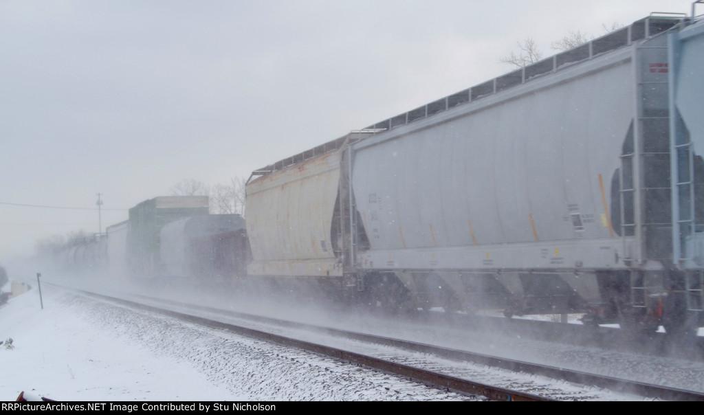 Winter railside vortex?