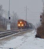 BNSF on the NS Main at Columbus, Ohio