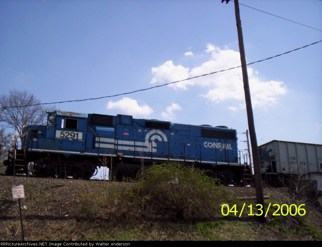 This time NS 5291 is on the point