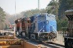 GECX ES44AC 2031 joins BNSF C44-9W 4094 and ET44C4 3858