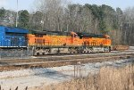 BNSF C44-9W 4094 and ET44C4 3858
