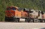 BNSF ES44C4 6851 and CREX ES44AC 1350