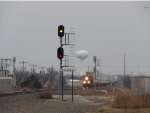 Approach North Siding Switch Moore