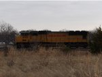 UP SD70M 4123