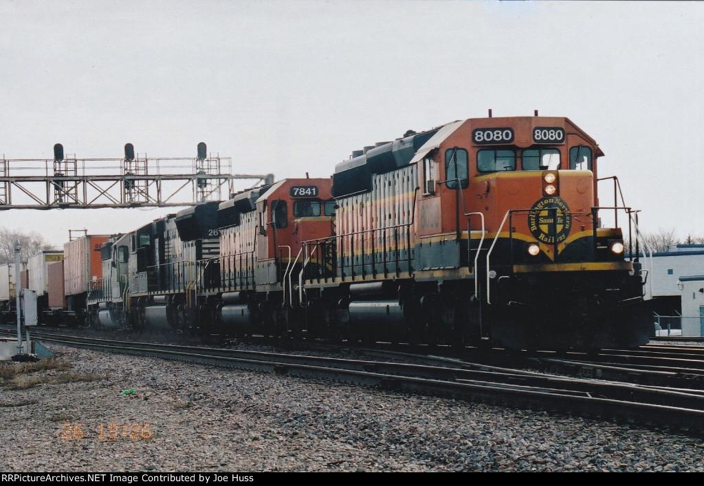 BNSF 8080 West