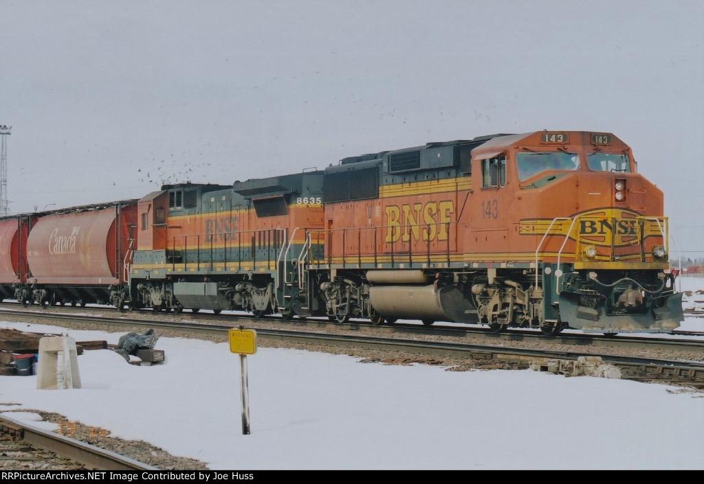 BNSF 143 East