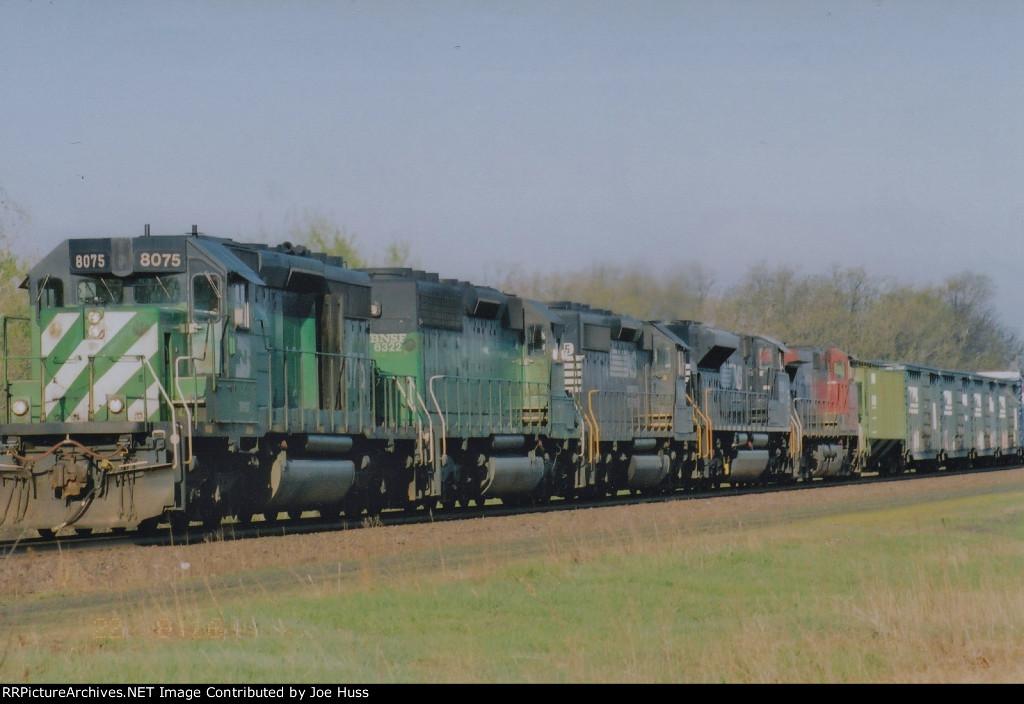 BNSF 8075 East