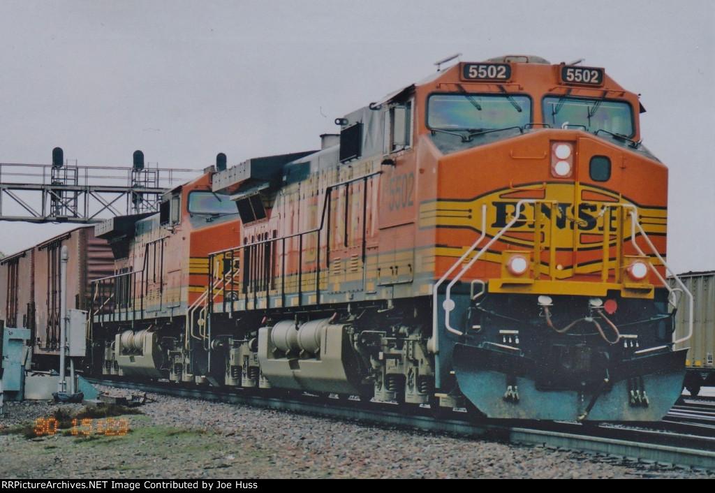 BNSF 5502 West
