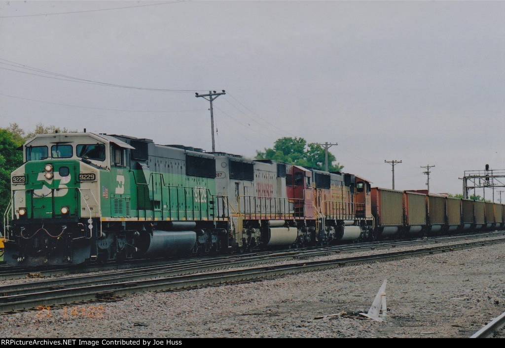 BNSF 9229 West