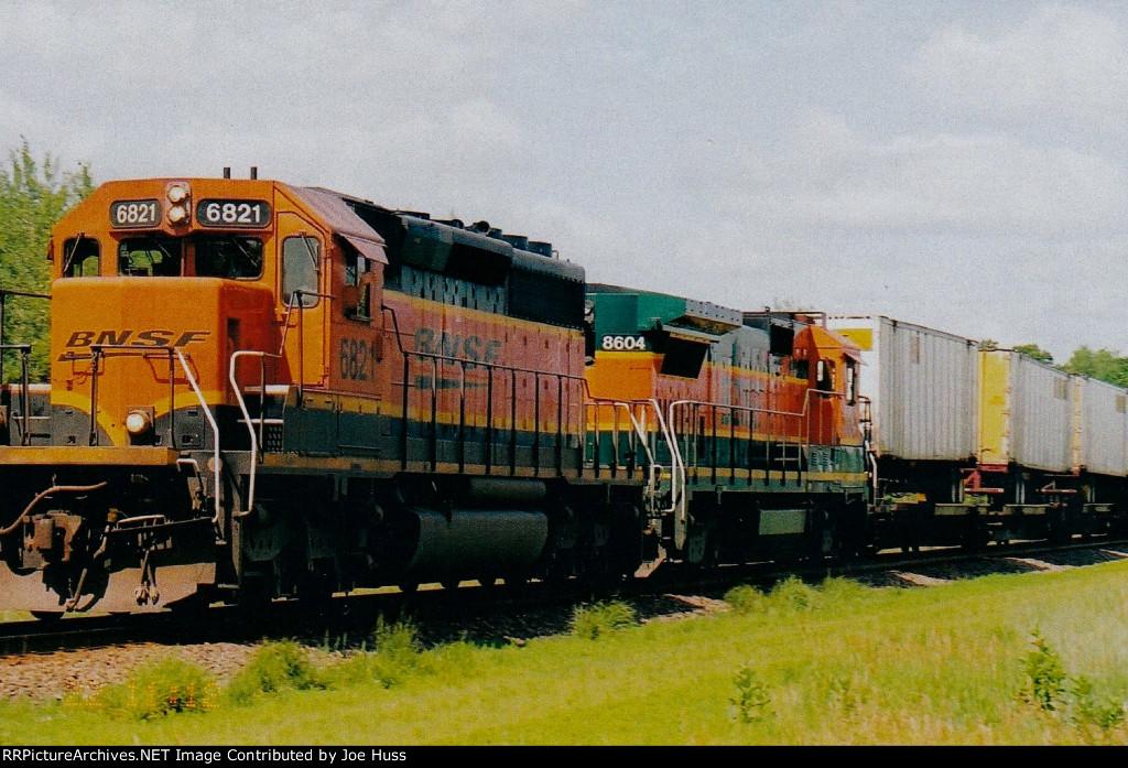 BNSF 6821 East