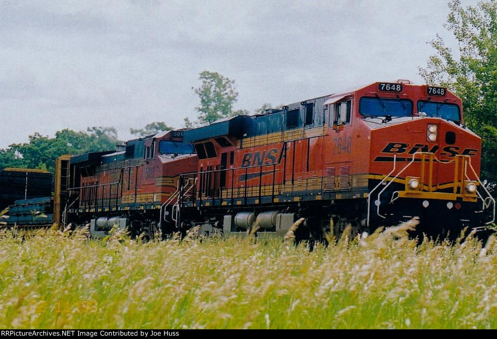 BNSF 7648 West