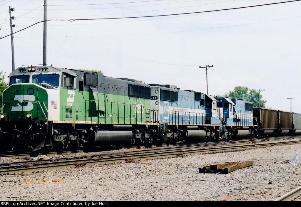BNSF 9255 West