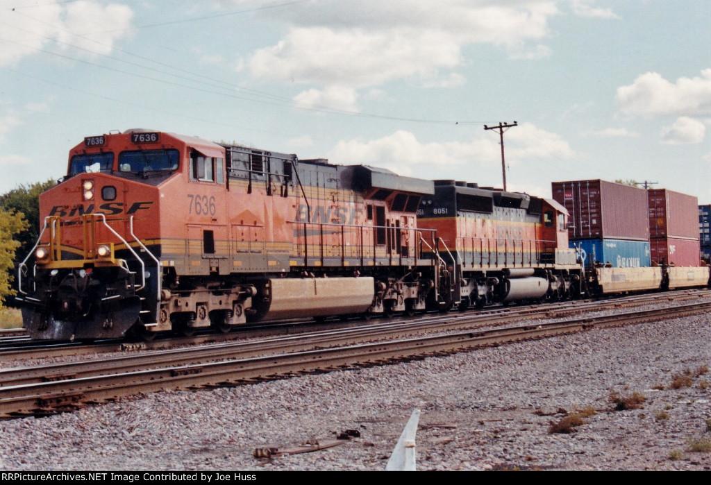 BNSF 7636 West